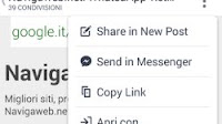 Forzare Facebook ad aprire link su Chrome