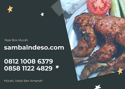 harga Nasi Box Ayam Bakar di Bintaro