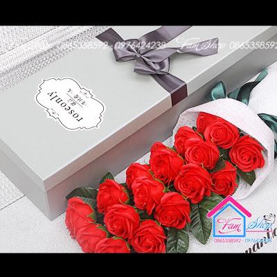 Shop ban hoa sap thom tai Dong Da