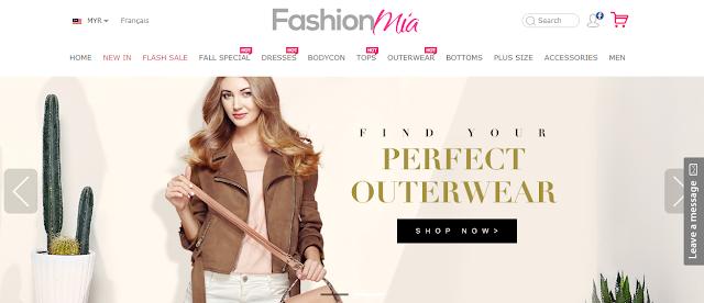 Dapatkan Pakaian Musim Sejuk di FashionMia.com