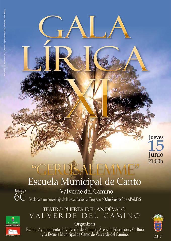XI Gala Lírica