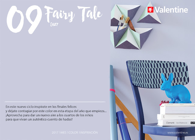 Septiembre: Interiores en Lila Fairy Tale