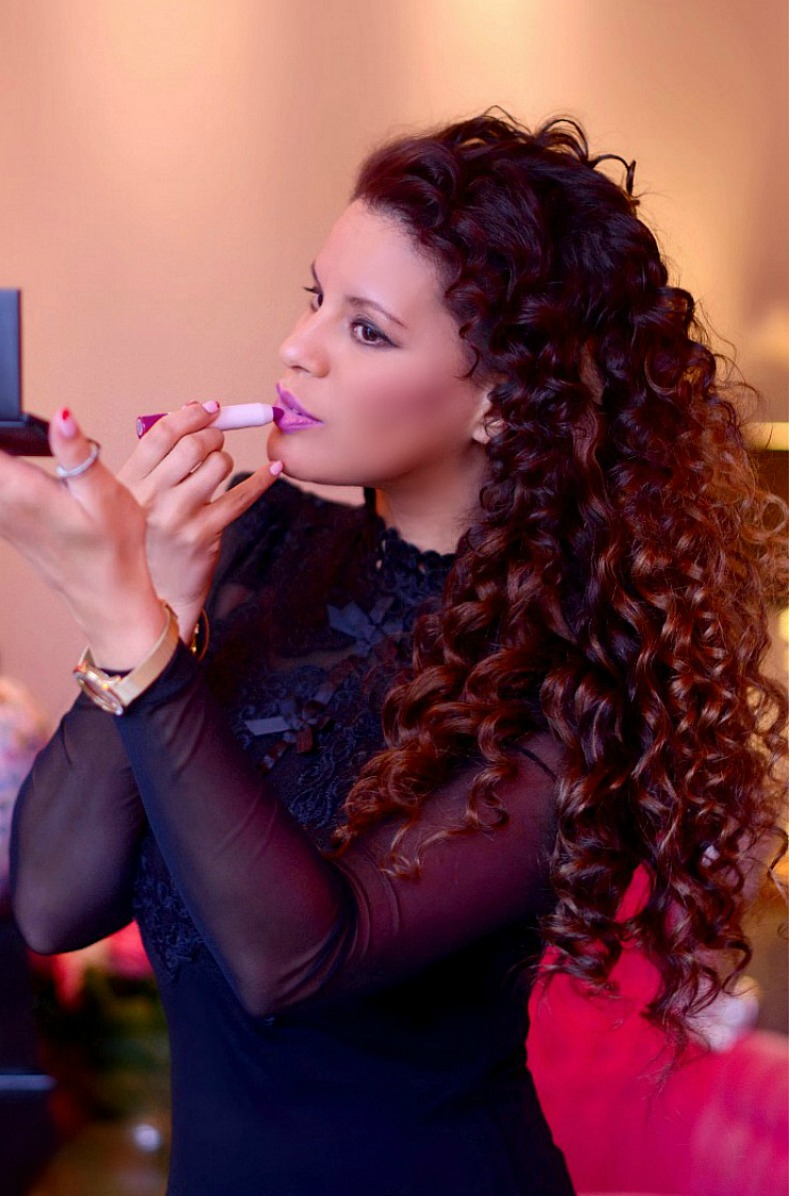 Tamara Chloé, Ultra Violet, makeup trend 2018, Purple makeup