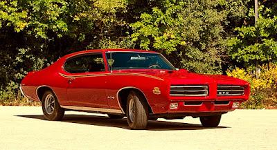 1969 Pontiac LeMans GTO The Judge Front Left