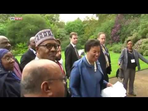"""Buhari agrees with Cameron that Nigeria is """"fantastically corrupt"""""""