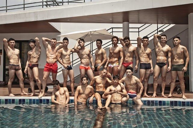 Swimming pool - Mister Global 2014