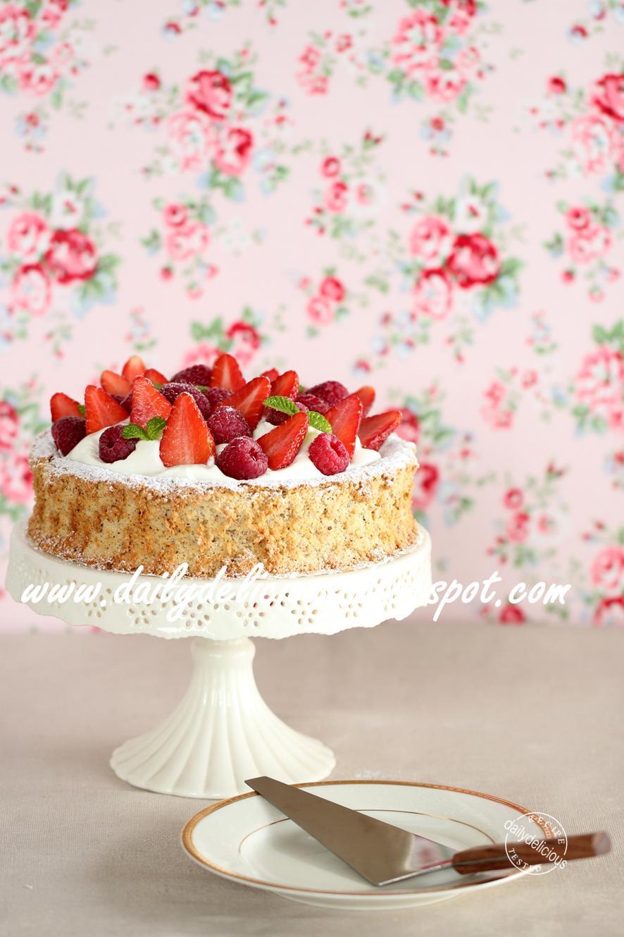 Hazelnut Meringue Ice Cream Cake