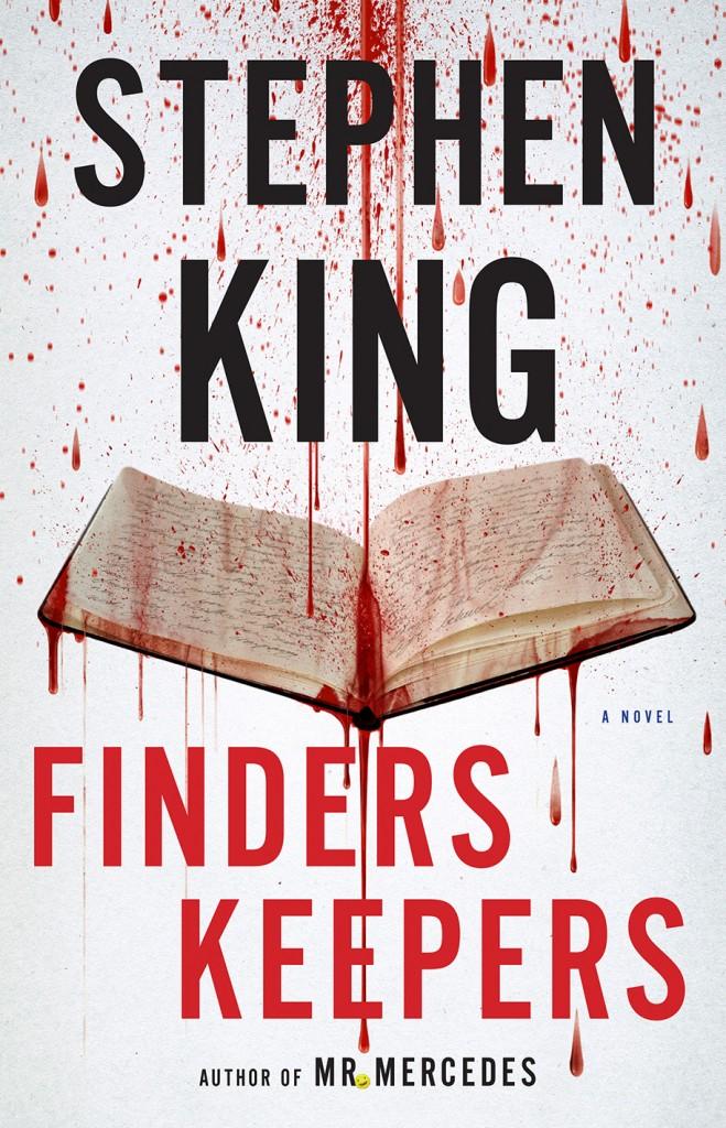 Capa de Finders Keepers, novo livro de Stephen King