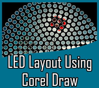 Design Custom Led Edit Layout Using Coreldraw
