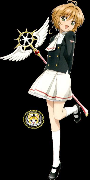 RENDER Sakura Kinomoto 01- Card Clear