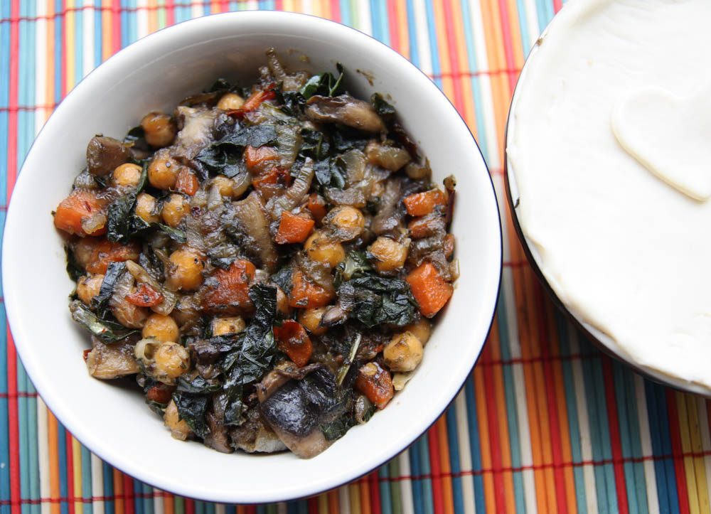 how to cook black kale uk