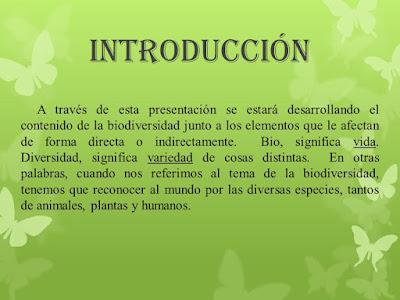 introduccion biodiversidad