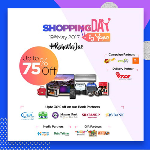 Pakistan's First Ever Online Shopping Day  30% Discount MCB Card On 19 May 2017