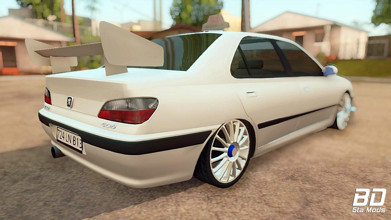 Download mod carro Peugeot 406 Taxi Marselle para GTA San Andreas