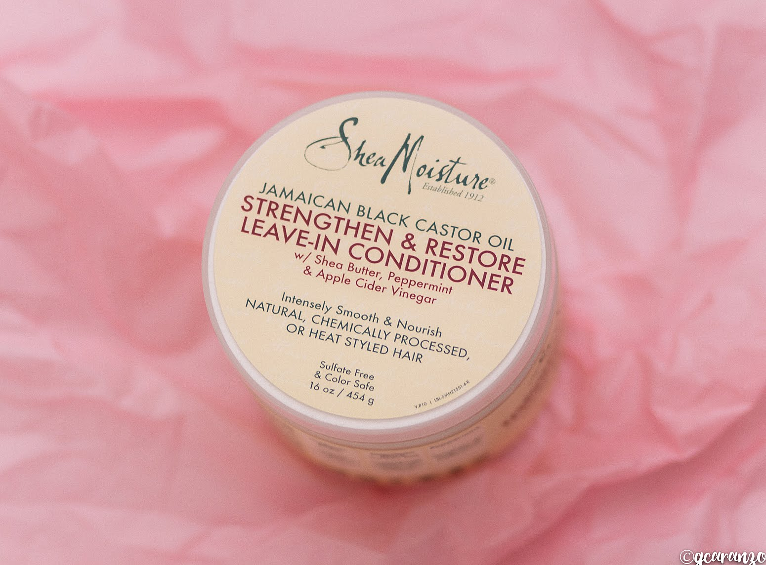 Shea Moisture Jamaican Black Castor Oil Strengthen & Restore Leave-in Conditioner Product Review