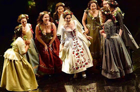 Rhian Lois and ensemble - Don Giovanni - Santa Fe Opera