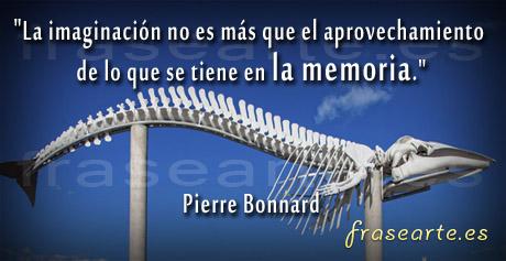 Frases para la memoria, Pierre Bonnard