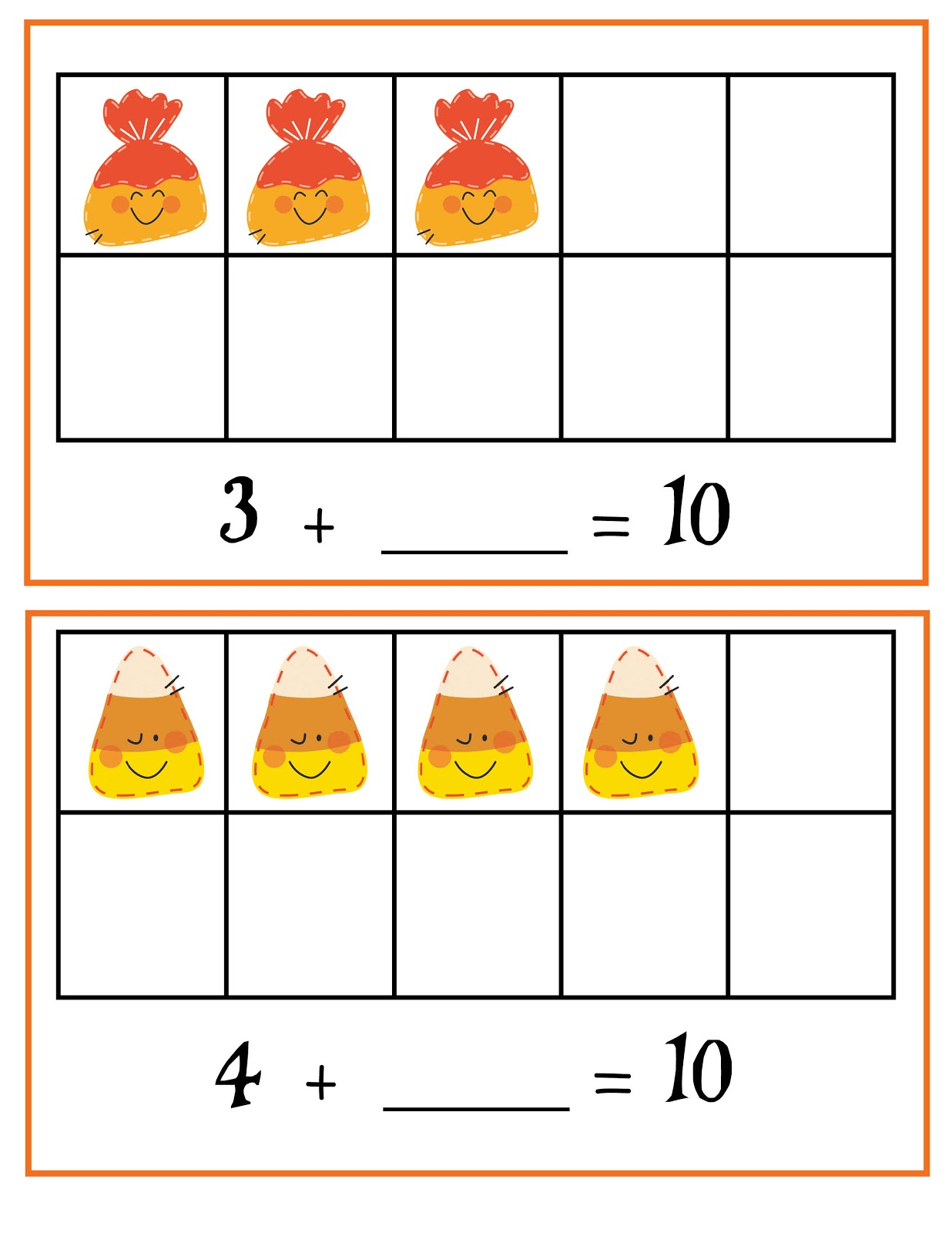 Growing Little Minds Halloween Math Centers For Common Core