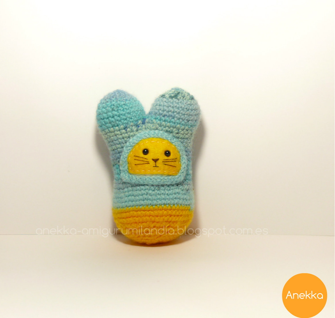 cute and sweet amigurumi anekka handmade