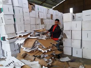 2.298 Kotak Suara di Cirebon Rusak Terendam Banjir