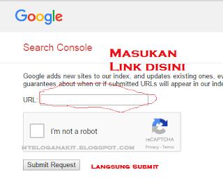 cara submit artikel google