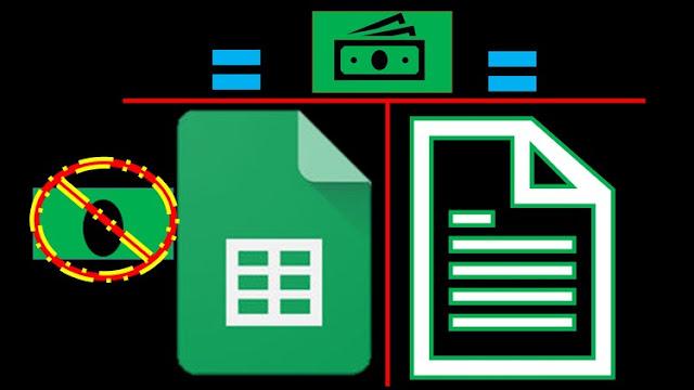 Google Sheets-Accounting Debits & Credits–Example Problems