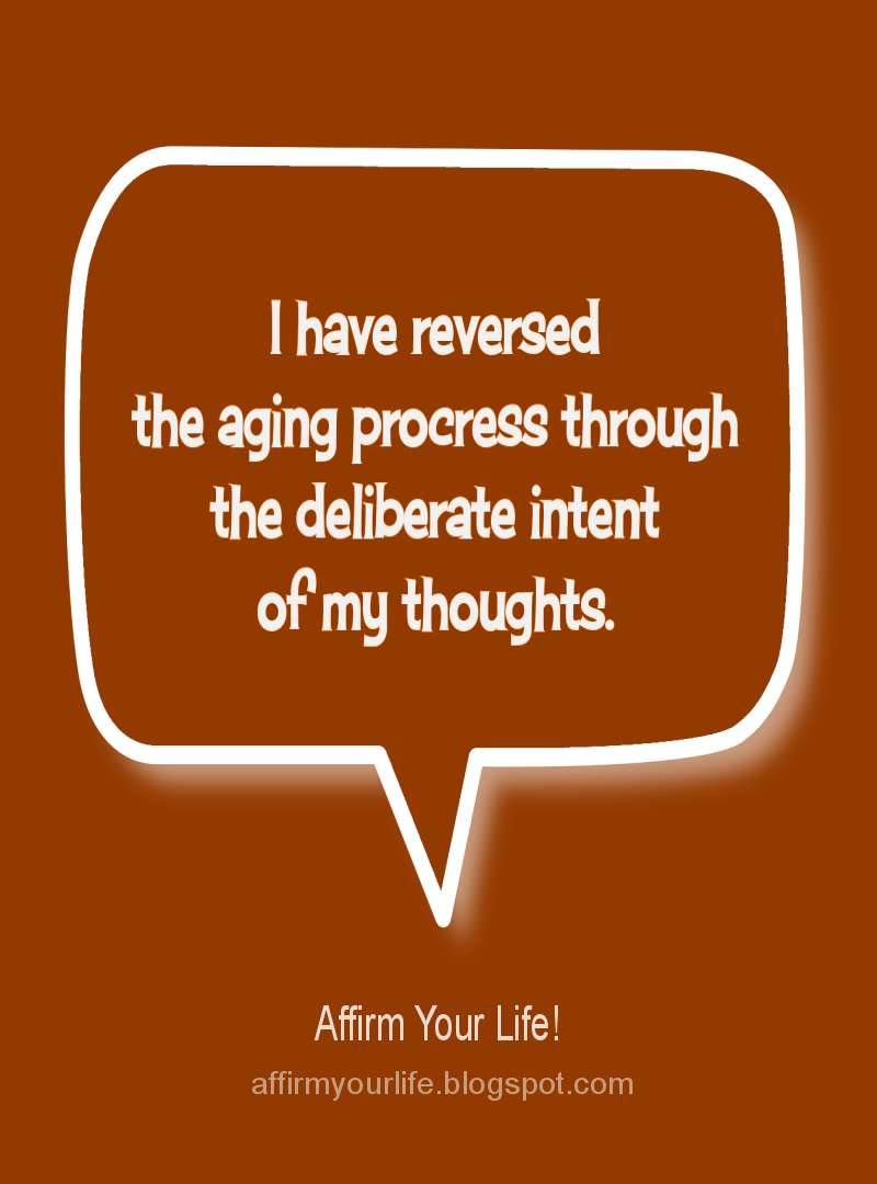 YOUTHFULNESS affirmation