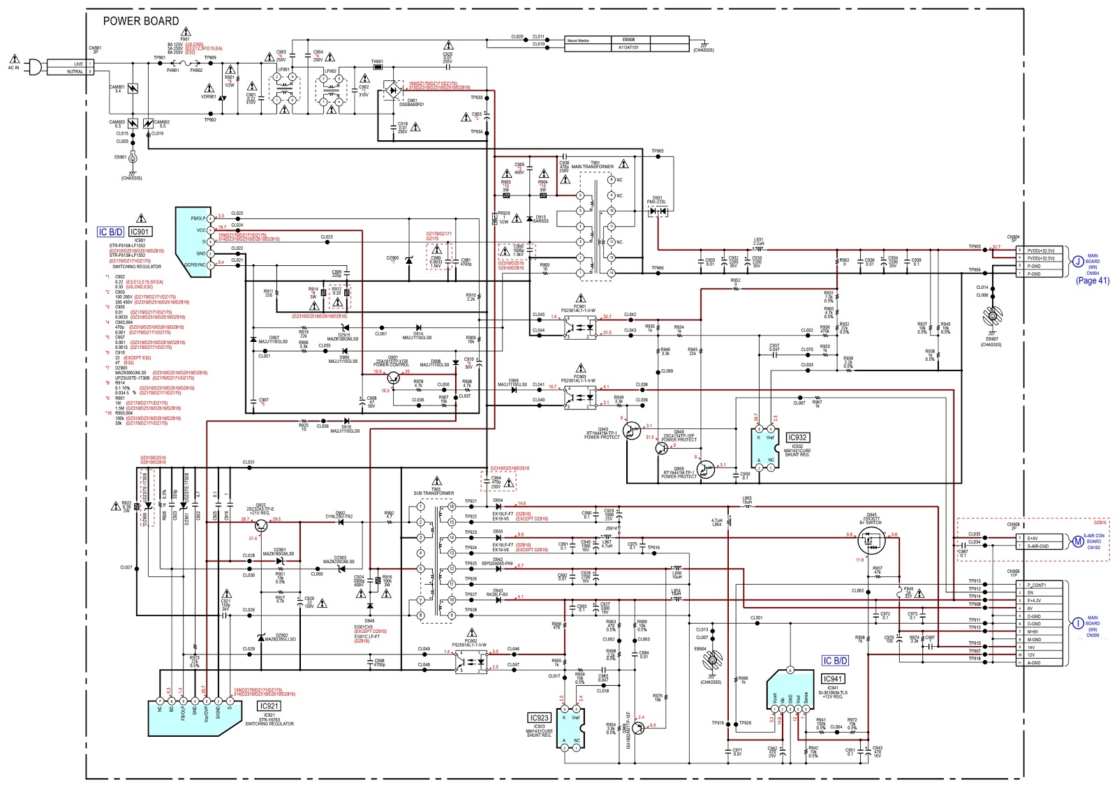 Home Theater Wiring Diagram 6 Way Rv Sony Dav Dz810 System  Hbd Dz170 Error