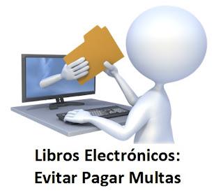 Libros Electrónicos: Evitar Pagar Multas