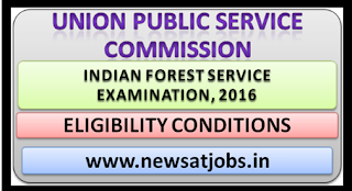 upsc+indian+forest+service+examination+2016+eligibility+condition