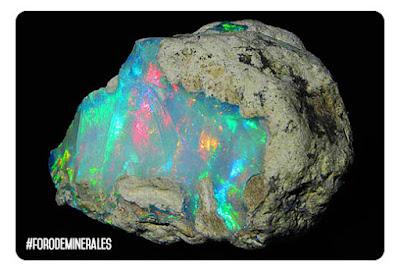 opalo de etiopia multicolor | foro de minerales