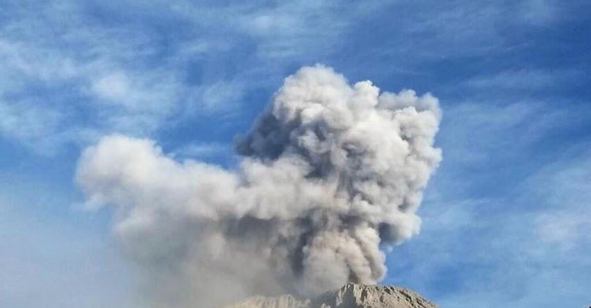 Ubinas es el volcán más activo de Perú y está entre los 10 más peligrosos de América Latina