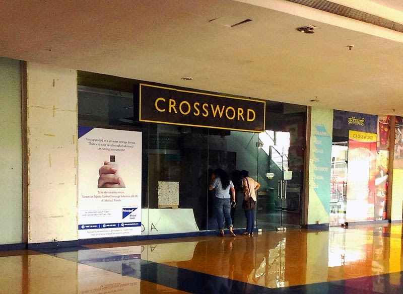 Closed Bookstore Crossword