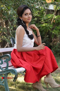 Actress Mahima Nambiar Latest Stills in White Top and Red Skirt at Kuttram 23 Movie Press Meet  0034.jpg