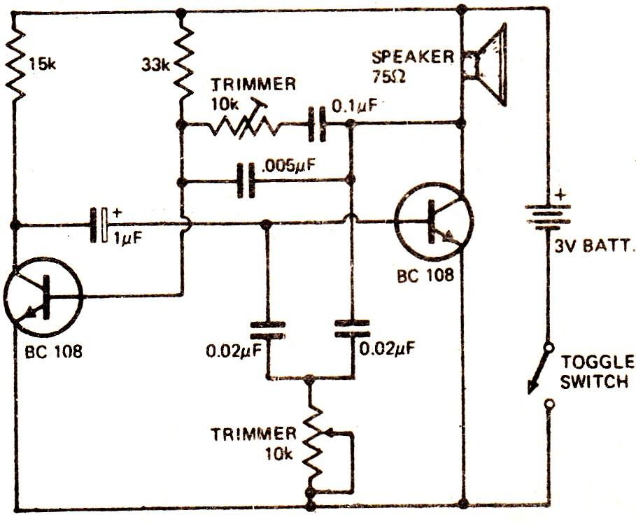 simple fish caller circuit