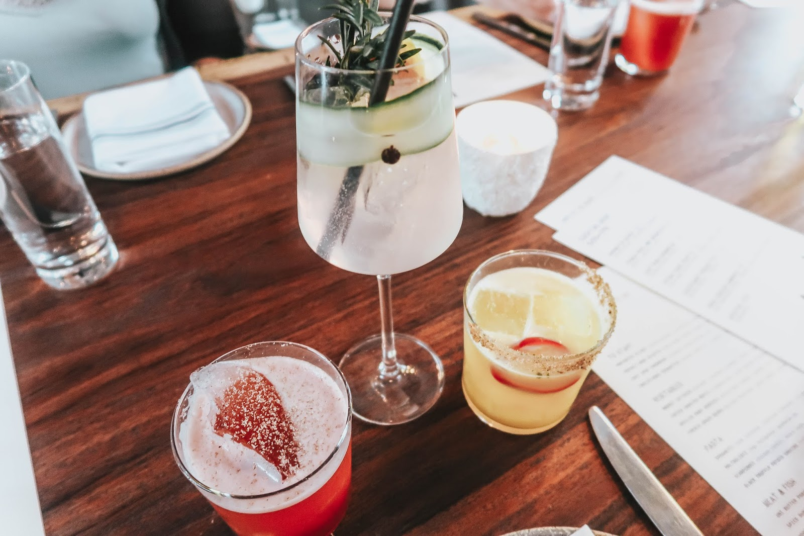 drinks at norah restaurant west hollywood