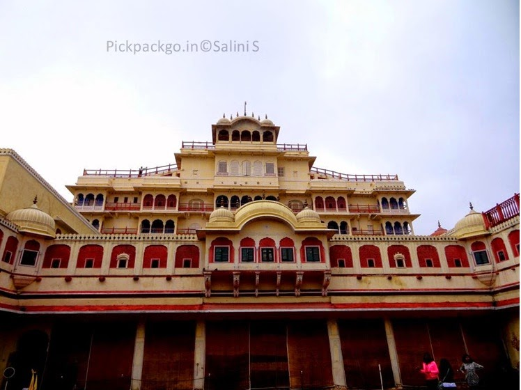 Main palace and residence of royal family Jaipur city Palace - Rajasthan, India - Pick, Pack, Go
