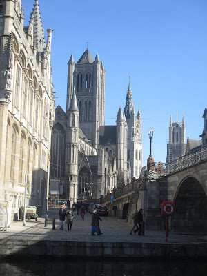 Torens van Gent: Sint-Niklaaskerk, Belfort en Sint-Baafskathedraal
