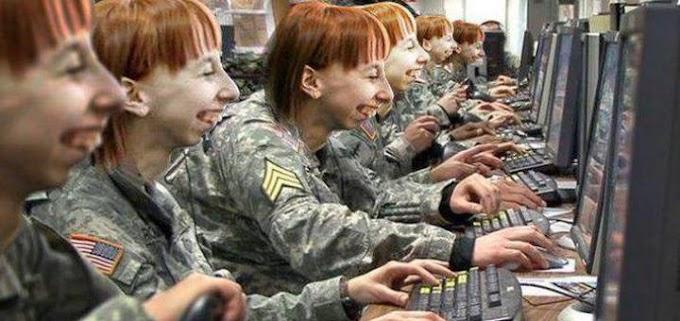 «Дочери офицеров» и управление толпой