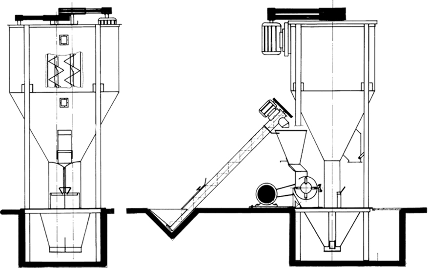 Auger Mixer ~ Auger Tool Image