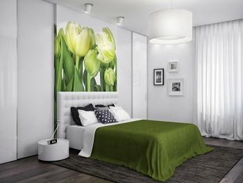 Habitaciones decoradas en verde y gris ideas para - Habitaciones decoradas modernas ...