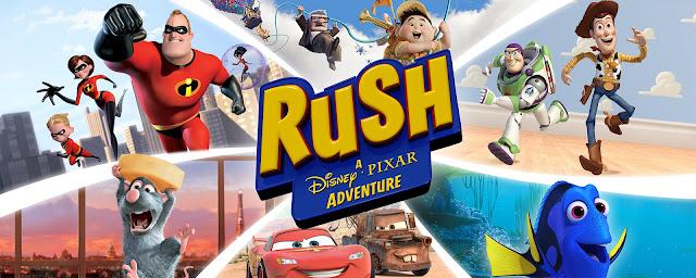 [Recenzja] Rush: Przygoda ze studiem Disney Pixar