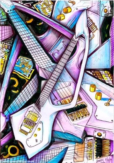 A Prince Guitar