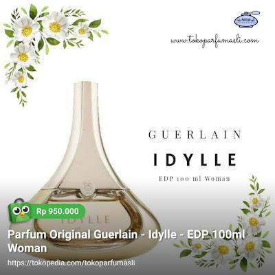 toko parfum asli parfum original guerlain idylle edp 100ml woman