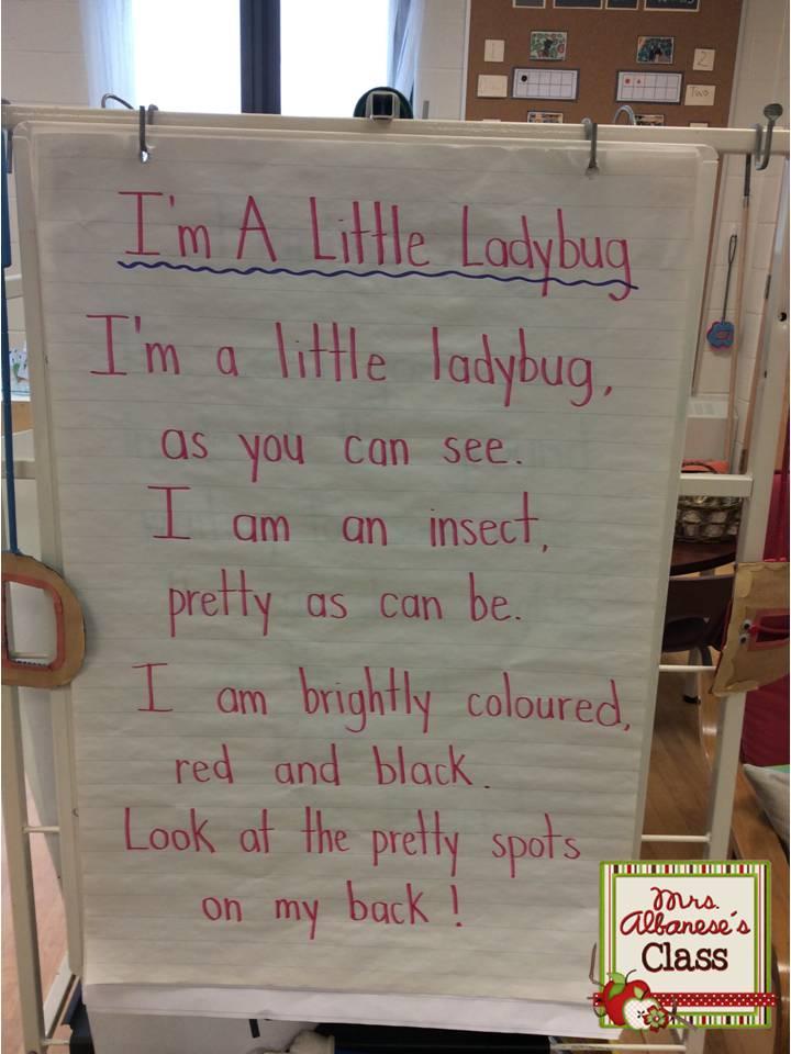 Mrs  Albanese's Kindergarten Class: Interactive Pocket Chart {Poem