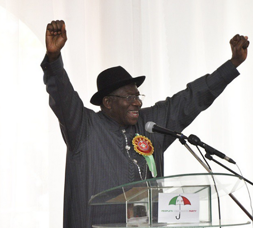 Pics: GEJ at inauguration of PDP Presidential campaign committee
