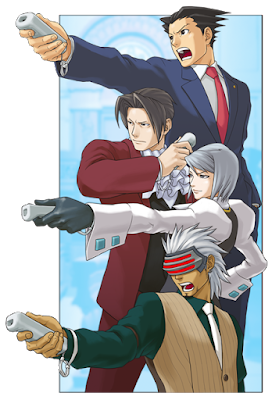 Phoenix Wright Ace Attorney WiiWare Wii Remote controller