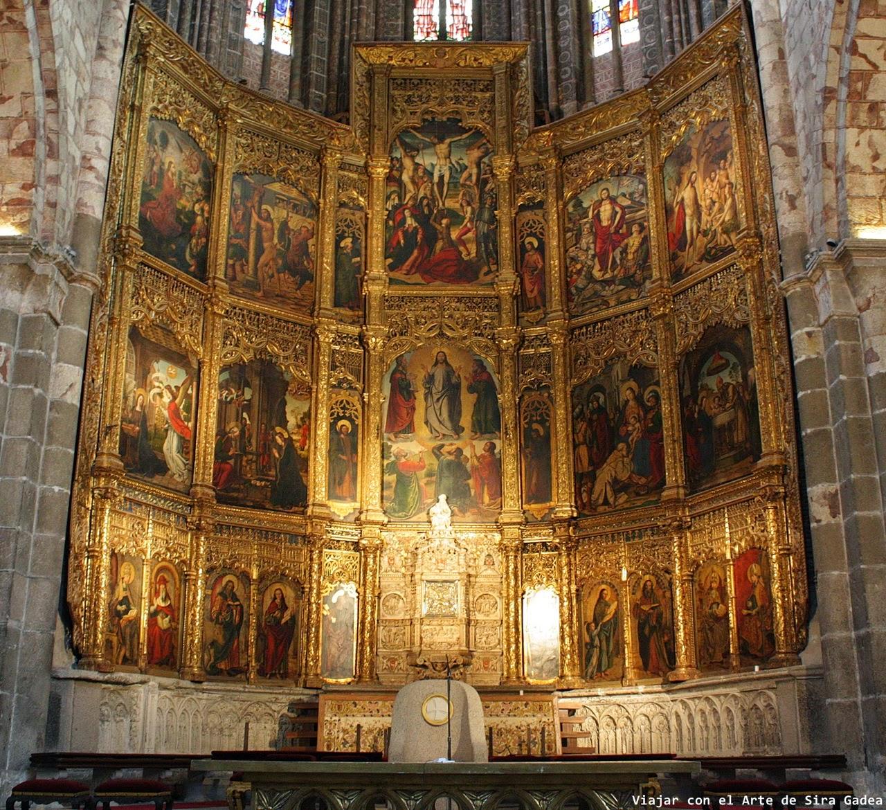 Berruguete retablo Catedral Ávila