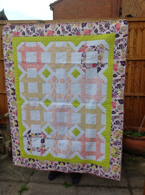 Quilting Prolifically Week Finish