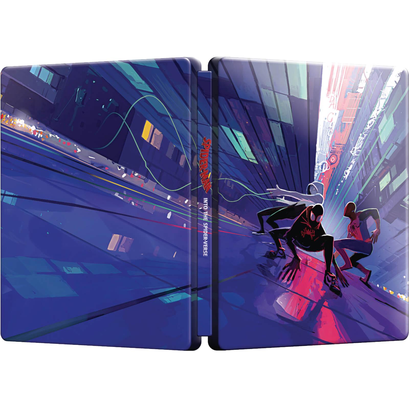 Zoe Kravitz Spider Verse: Spider-Man: Into The Spider-Verse 4K Steelbook Pre-Orders